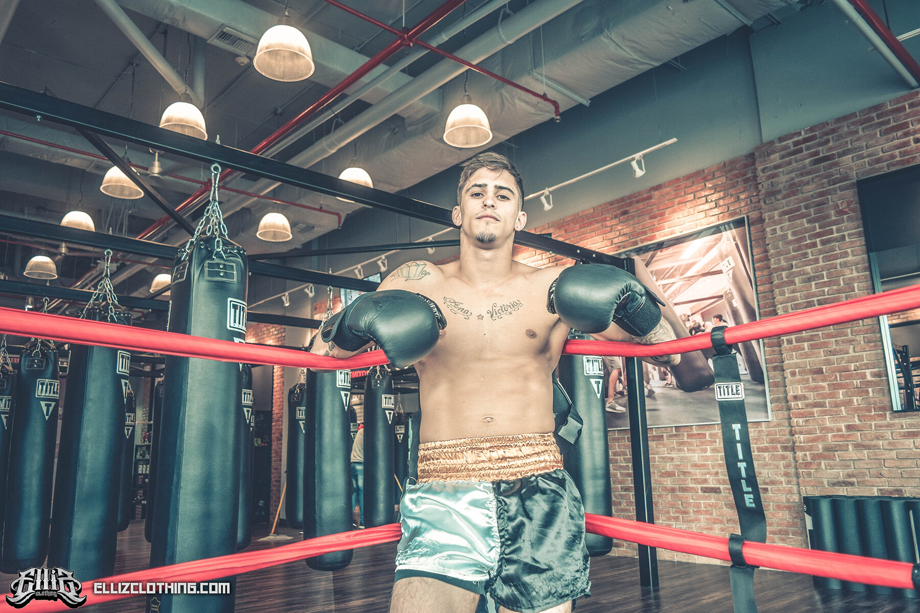 Braian Leiva Elliz Clothing MMA Photoshoot 04