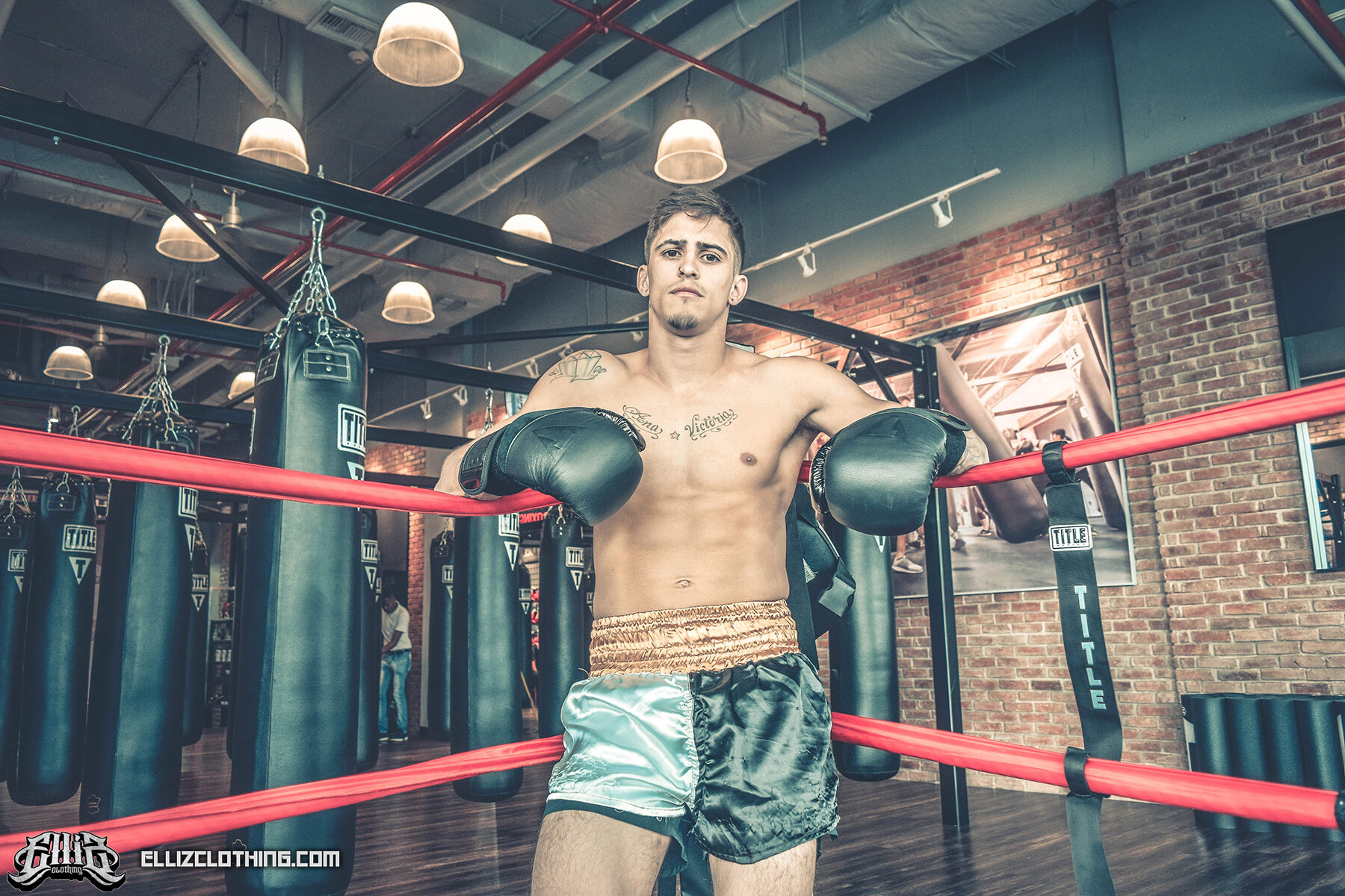 Braian Leiva Elliz Clothing MMA Photoshoot 05