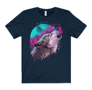 Elliz Clothing Rebirth Wolf Tshirt