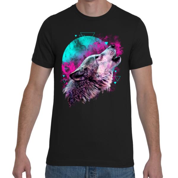 Elliz Clothing Rebirth Wolf Tshirt men emo