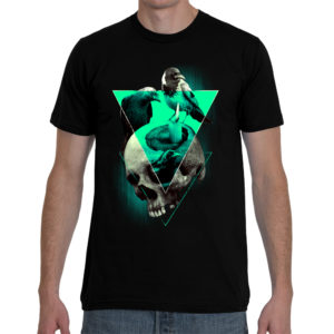Elliz Clothing eradication skull and crows t-shirt