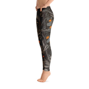 elliz clothing Aquatic bots Graphic Leggings