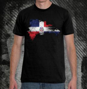 elliz clothing dominican republic flag unisex t-shirt