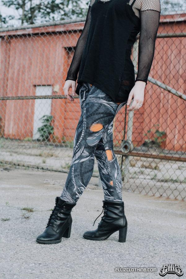 elliz clothing leggings photoshoot