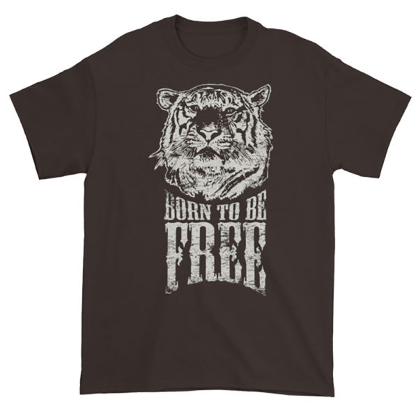 Elliz Clothing Born to be free tiger t-shirt