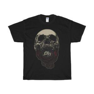 Elliz Clothing soul eater skull rose t-shirt