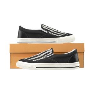 elliz clothing skeleton sneakers skater shoes