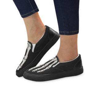 elliz clothing skeleton sneakers slip-on shoes