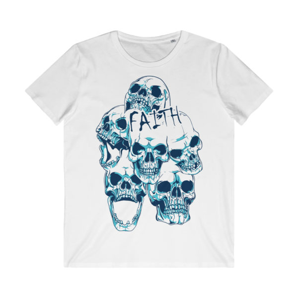 Elliz Clothing Dead Faith Skulls White T-Shirt