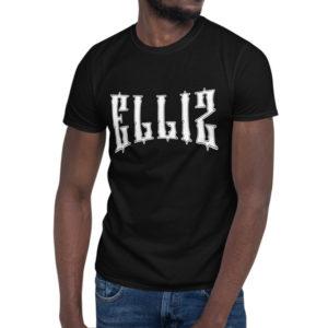 Elliz Clothing Campeón Camiseta Unisex Negra