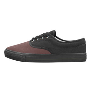 Aries Burgundy Mens Canvas Shoes