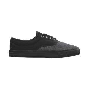 Elliz Clothing Aries Unisex Canvas Shoes Grey