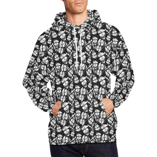 Elliz Clothing Army Skulls Pattern Hoodie