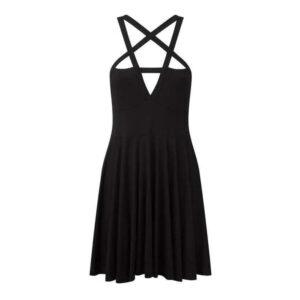 Elliz Clothing Crisscross Pentacle Gothic dress 01