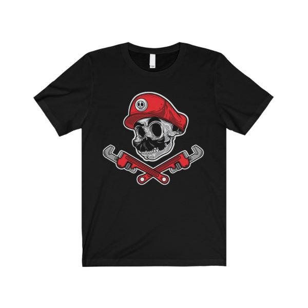 Elliz Clothing Mario Skull Nintendo Parody T-Shirt