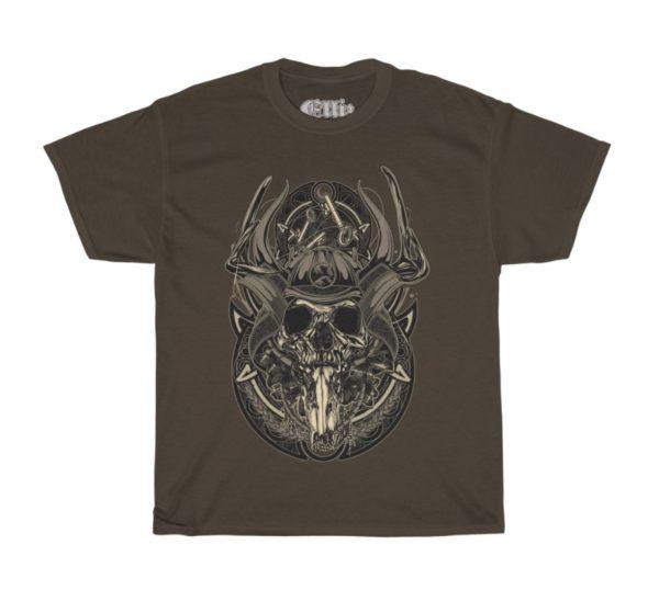 Elliz Clothing Samurai Warrior Skull T-shirt