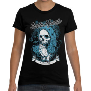 Elliz Clothing Santa Muerte t-shirt