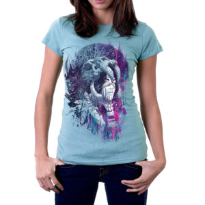 Elliz Clothing Women's iridescent Shaman Softstyle t-shirt