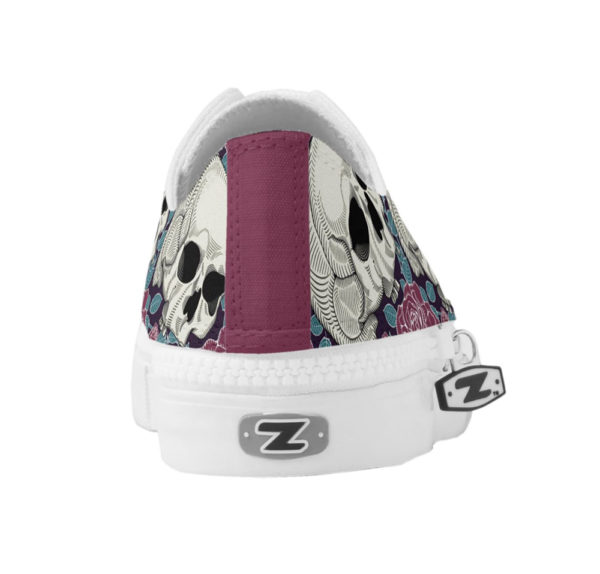 Elliz Clothing Skull Roses Low-top skater girl Sneakers