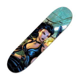XSIDE Comics Dark X-girl Skateboard