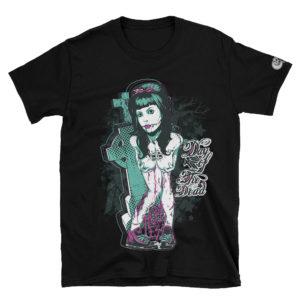 Elliz Clothing Camiseta da Garota Zumbi Unissex