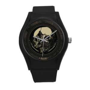 Elli Clothing Skull Warrior Plastic Watch