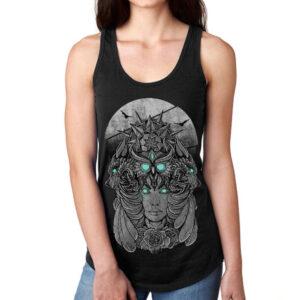 Elliz Clothing Young Goddess Womens Ideal Racerback Tank