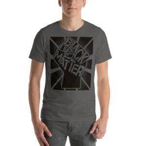 Black Lives Matter Graphic Unisex BLM T-Shirt Asphalt