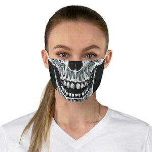 Elliz Clothing Skull Graphic Fabric Face Mask